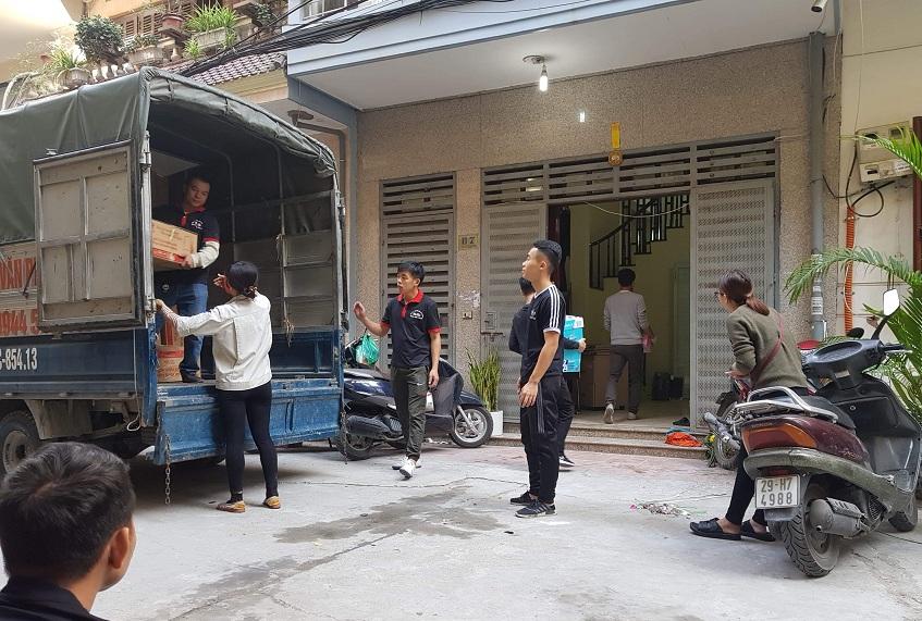 Cách thuê xe taxi tải 1 tấn Hà Nội chở hàng giá rẻ?