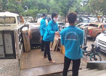 Thuê xe taxi tải 5 tạ giá rẻ nhất tại Hà Nội