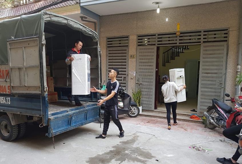 Cho thuê xe tải chở hàng Hà Nội uy tín giá rẻ nhất