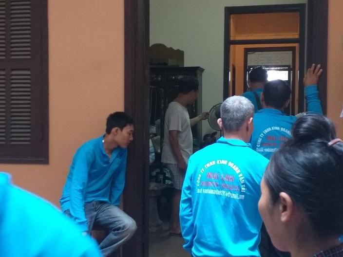 Thuê bốc vác, khuân vác, cửu vạn tại Hà Nội phục vụ 24/7