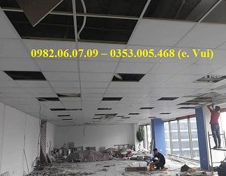 Báo giá và nhận phá dỡ trần thạch cao tại Hà Nội 0982.06.07.09